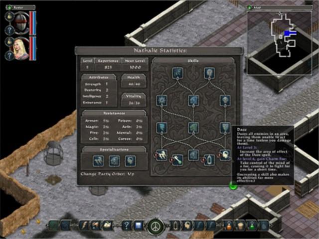 Avadon the Black Fortress, un RPG rétro pour iPad