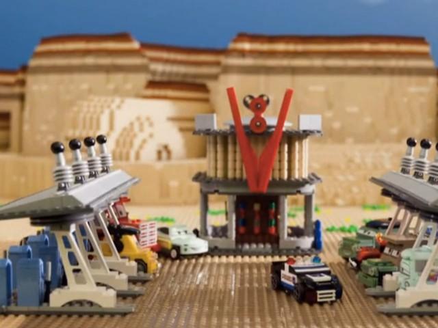 Cars 2 : le trailer officiel réalisé en LEGO