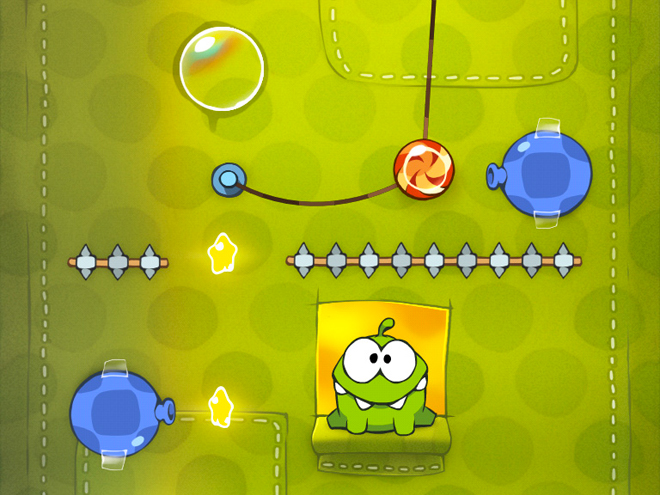 Cut the Rope maintenant disponible sur Google Android !