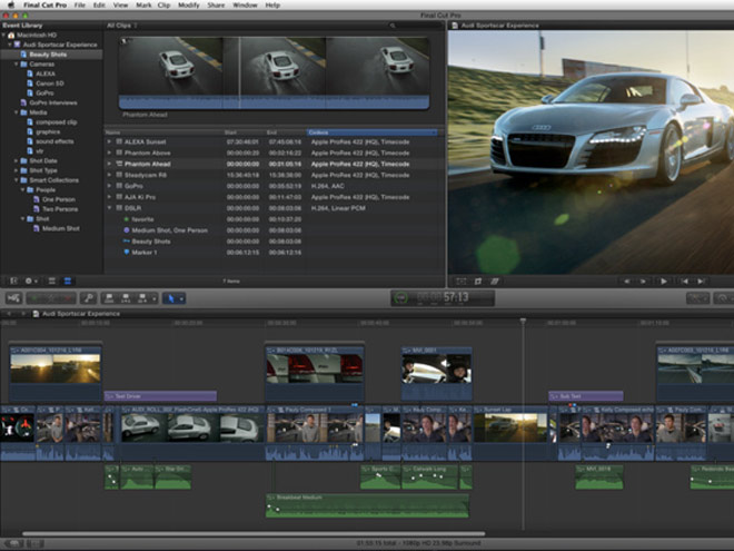 Final Cut Pro X est disponible sur le Mac App Store !