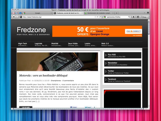Firefox 5 RC disponible sur Windows, Mac et Linux !