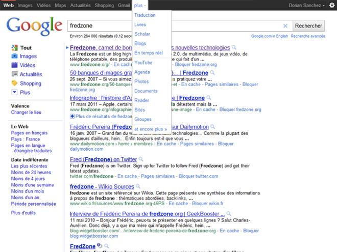 Google : une barre de connexion toute de noire vêtue