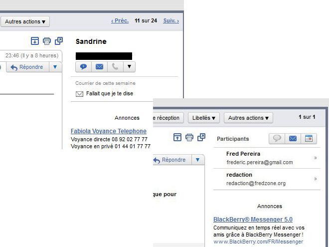 Google+ dans Gmail ?