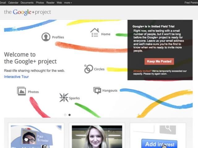 Google+ est disponible sur le Market !