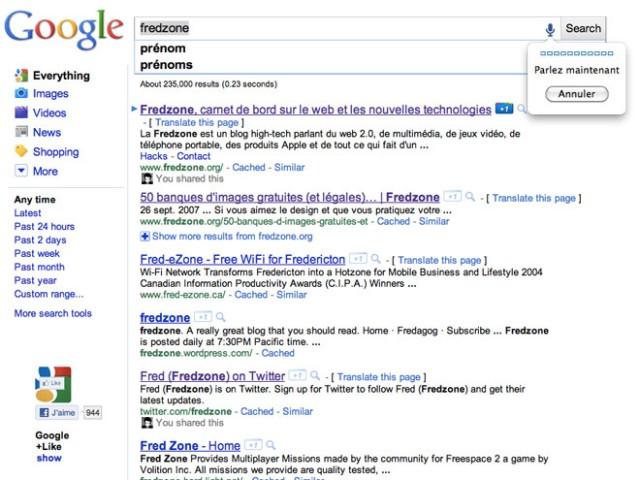 Google va bientôt intégrer la recherche vocale et la recherche par image
