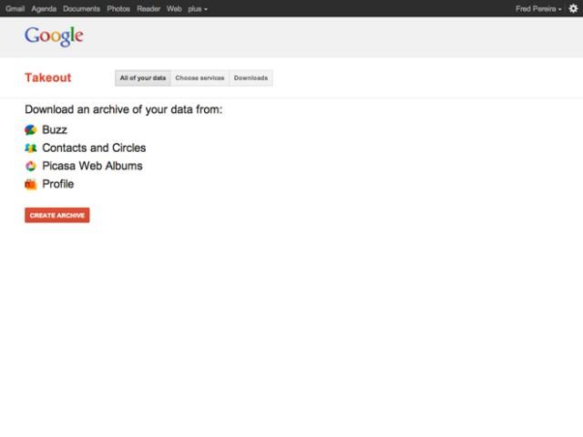 Google Takeout, pour sauvegarder facilement ses données