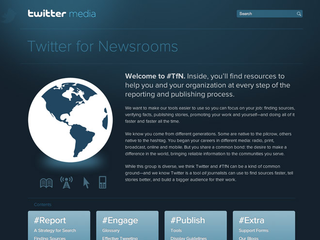 Twitter dévoile un guide pour les journalistes