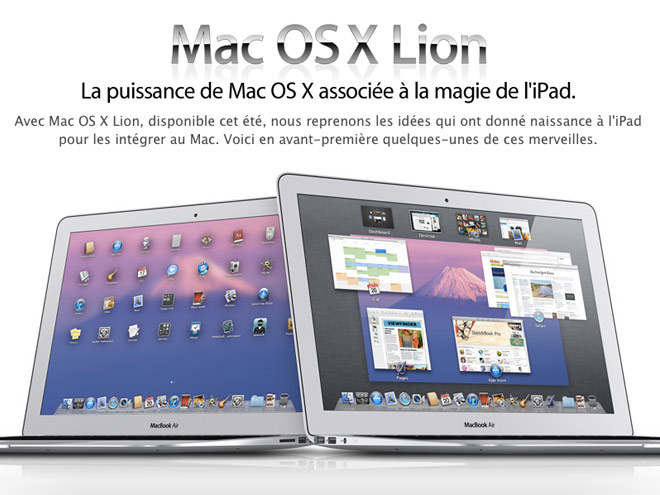 icloud gratuit mac os x lion