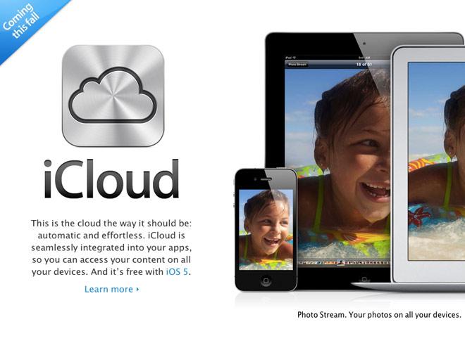iCloud : les données de votre mobile seront disponibles depuis votre navigateur web !
