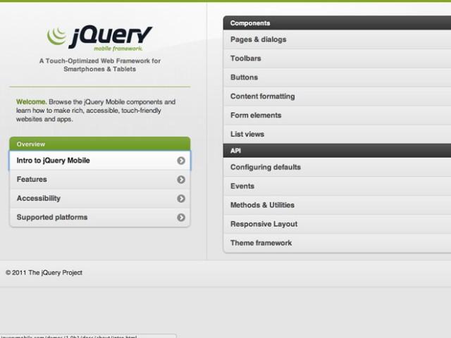 jQuery Mobile Beta 1 : jQuery débarque sur nos mobiles et sur nos tablettes