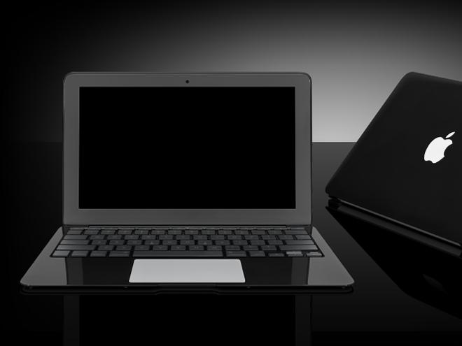 Bientôt un MacBook Air en noir ?