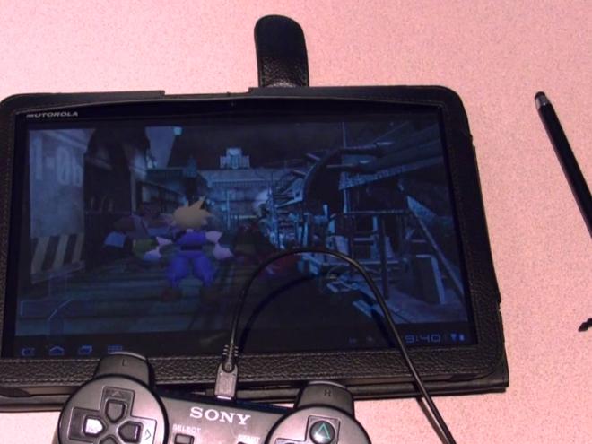 Comment utiliser une manette PlayStation 3 avec la Motorola Xoom