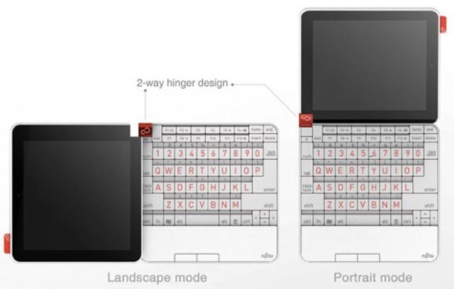 Anderson, un netbook fonctionnant en mode portrait ou paysage