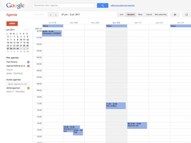 A new design for Google Calendar