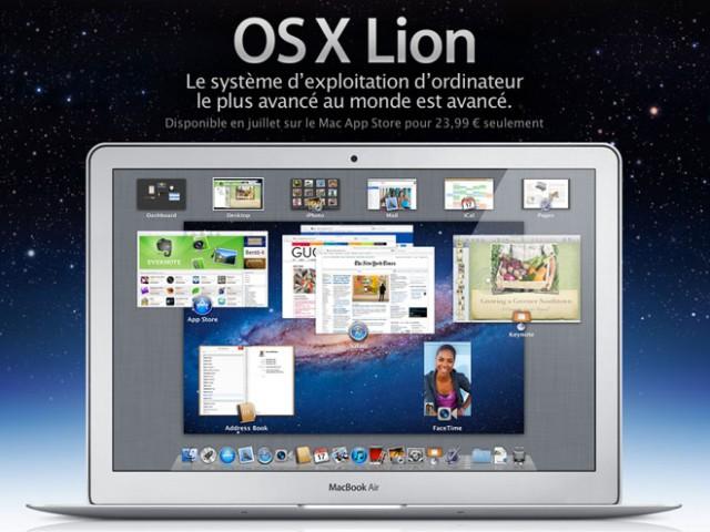 Mac OS X Lion : une vidéo de démonstration sur la page officielle