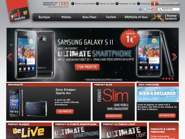 NRJ Mobile : un forfait mobile tout illimité pour 49,99 euros par mois