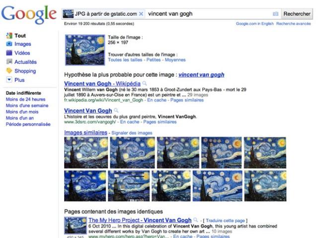 Google : la recherche par image est enfin disponible !