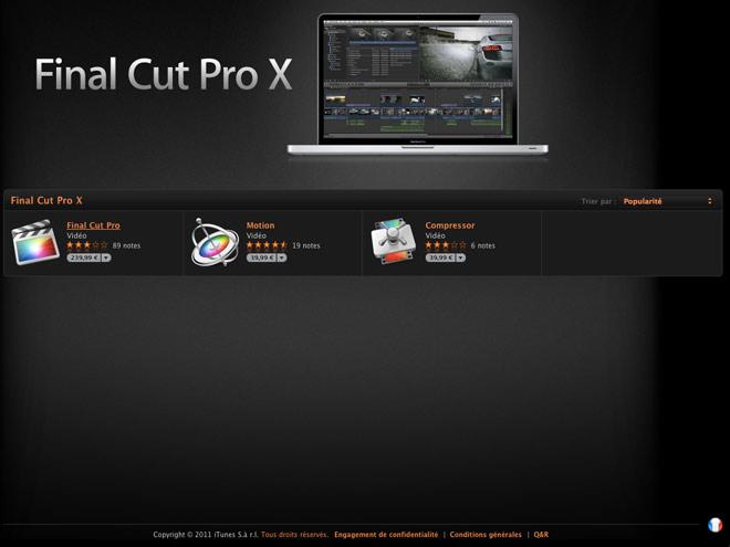 Se faire rembourser Final Cut Pro X, c'est possible et voilà comment il faut faire !
