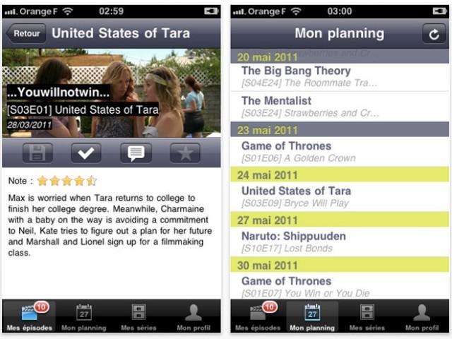 Sérievore : BetaSeries débarque sur iPhone