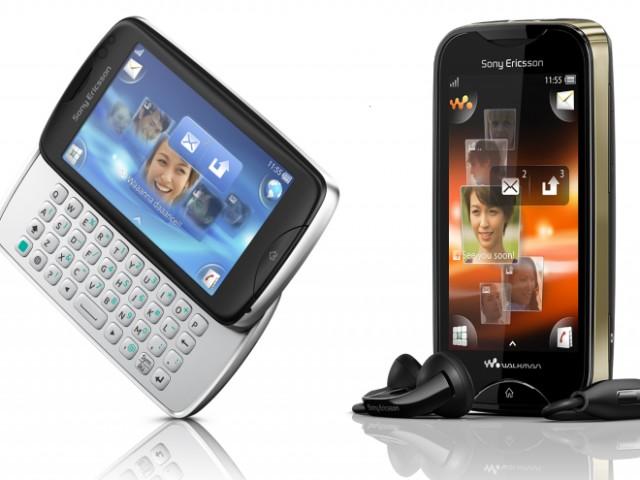Sony Ericsson annonce le Mix Walkman et le Txt Pro