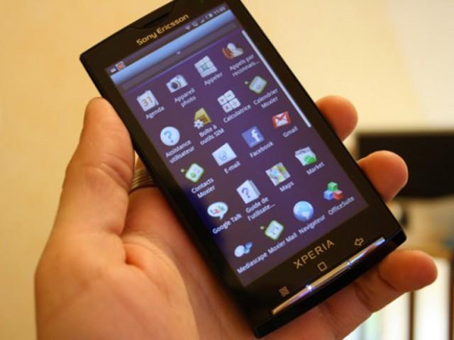 Sony Ericsson Xperia X10 : arrivée de Gingerbread en août !