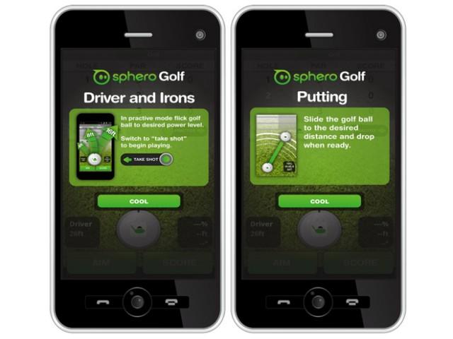 Sphero Golf, le premier jeu pour la Sphero (vidéo)