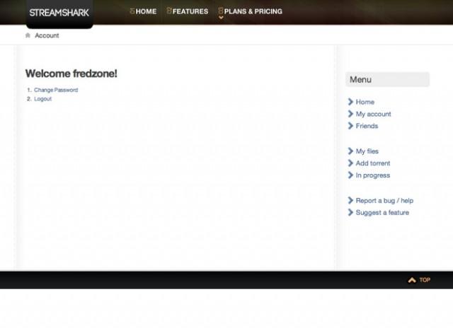 StreamShark, pour télécharger et streamer des fichiers torrent (100 comptes premium à gagner !)