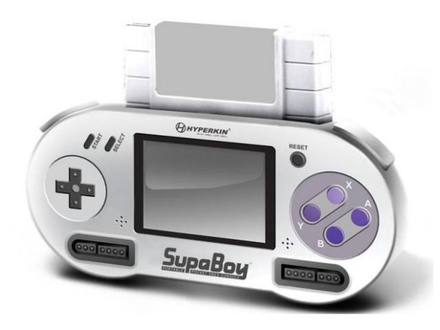 E3 2011 : Hyperkin SupaBoy, une Super Nintendo portable pour la fin de l'année !
