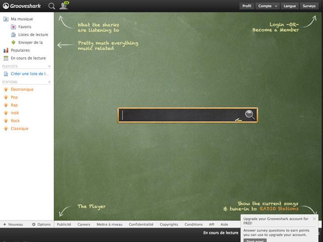 Comment télécharger de la musique sur Grooveshark ?