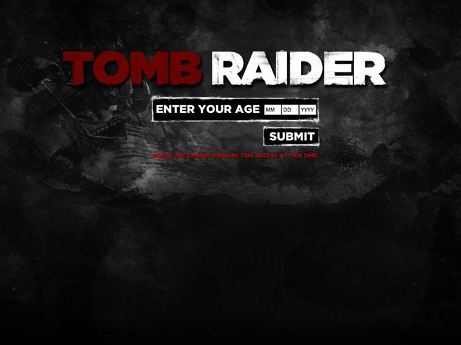 Vidéo : Tomb Raider, A Survivor is Born