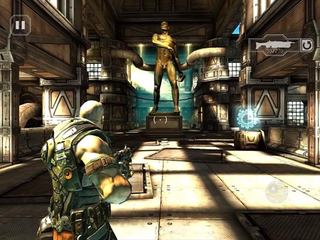 E3 2011 : Shadowgun, un jeu magnifique pour iOS et Android