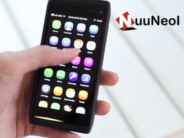 Vidéo : le Nokia N950 en action
