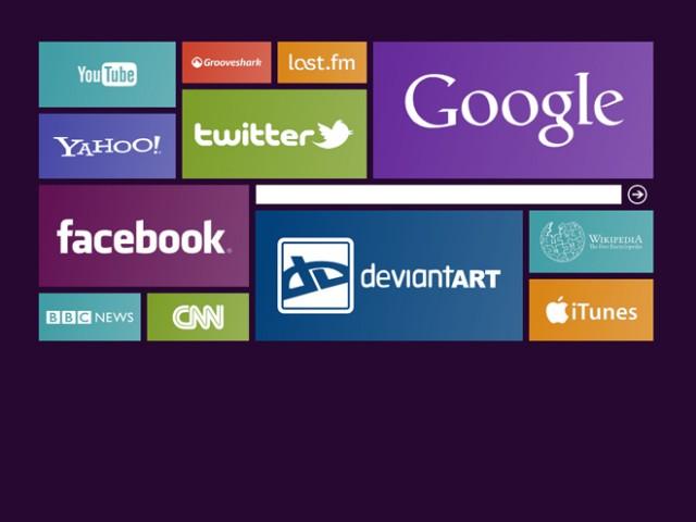 Eight, une page d'accueil inspirée de Windows 8 pour Firefox