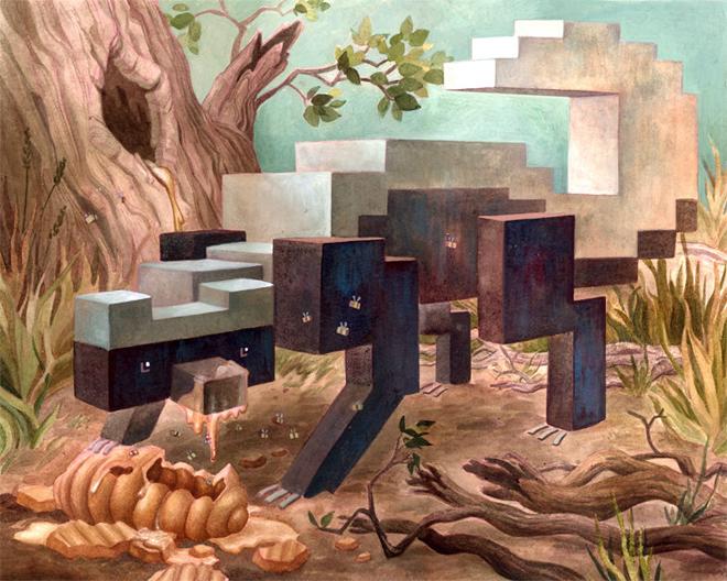 Des animaux en Pixel Art