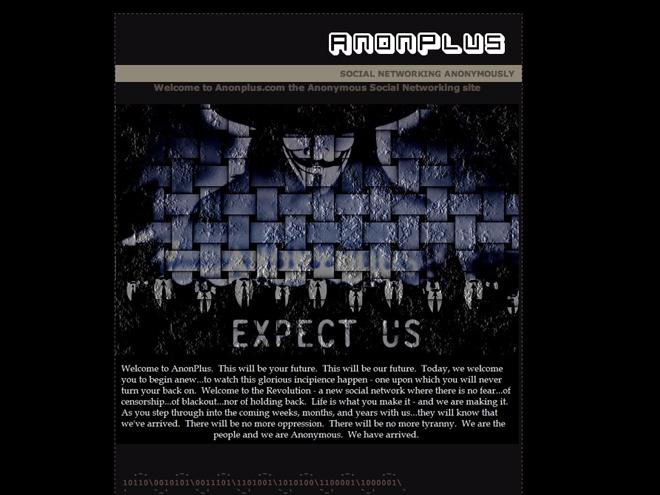 Anonplus, le réseau social des Anonymous