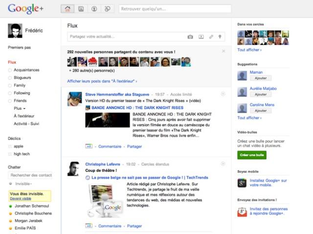 Google+ : bientôt une API pour les développeurs