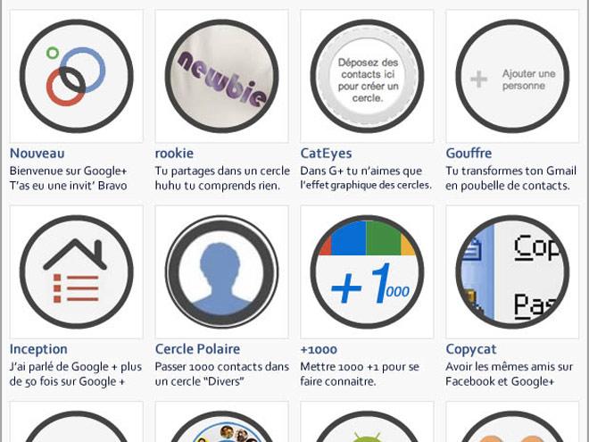 Et si Google+ avait des badges ?