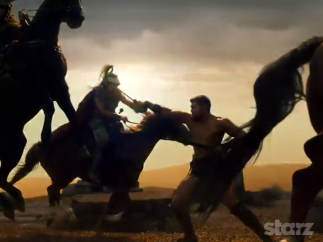 Encore une bande annonce pour Spartacus Blood and Sand saison 2