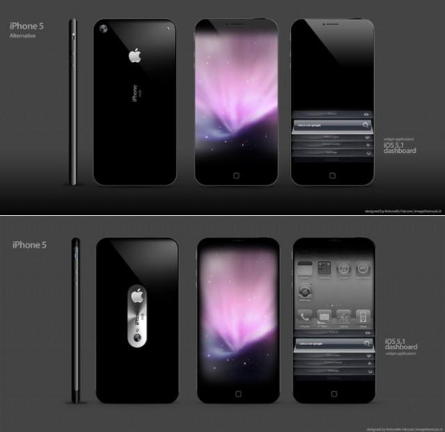 Quelques magnifiques concepts d'iPhone 5