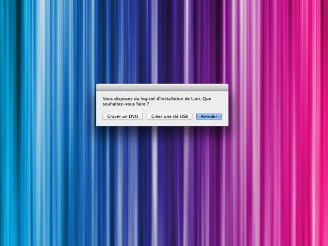 Créer un DVD ou une clé USB de Mac OS X Lion en un clic !