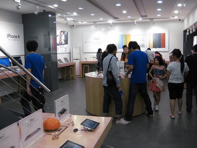 En Chine, on copie tout, y compris les Apple Stores