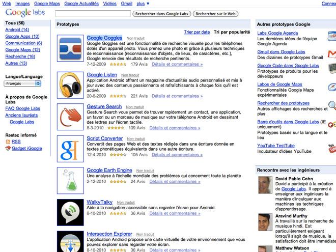 Google abandonne Google Labs