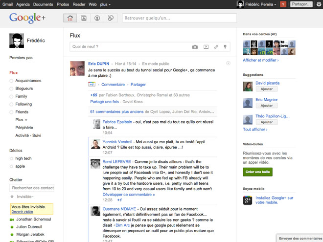 Transformer Google+ en Facebook, c'est possible !