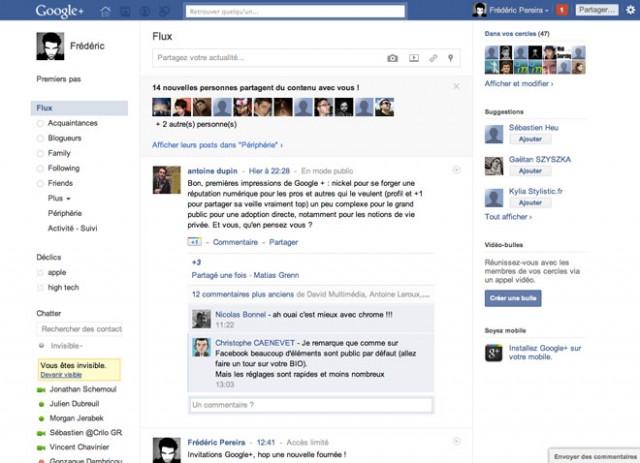 Transformer Google+ en Facebook, c'est possible !
