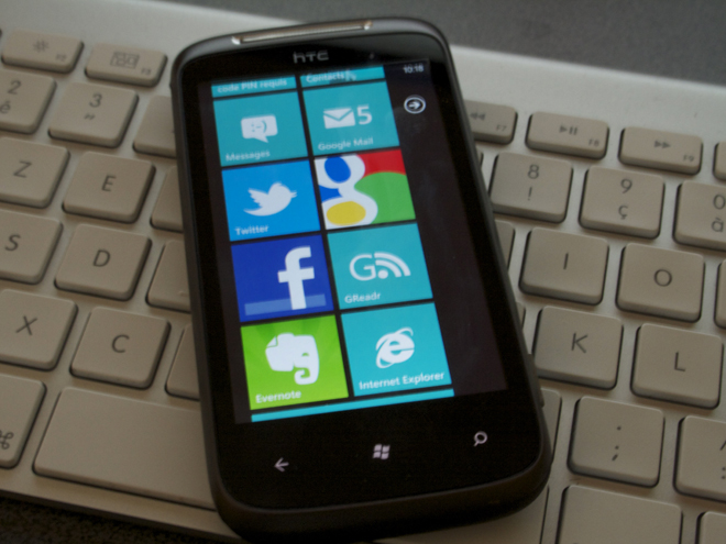 HTC Omega : un HTC sous Windows Phone 7 Mango