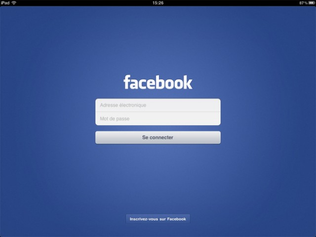 Installer Facebook sur un iPad jailbreaké