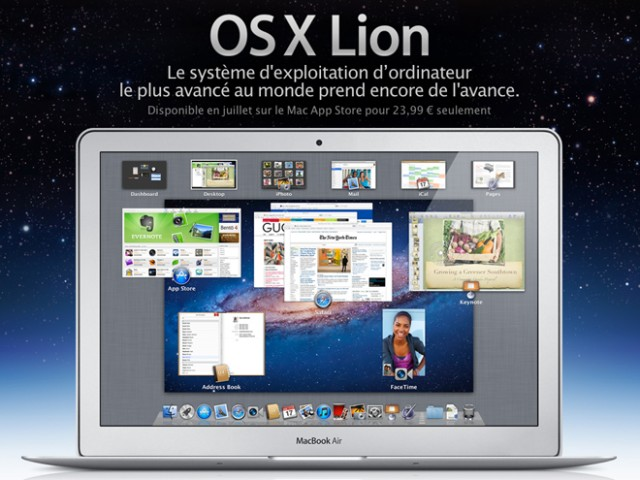 Mac OS X Lion : sortie demain ?