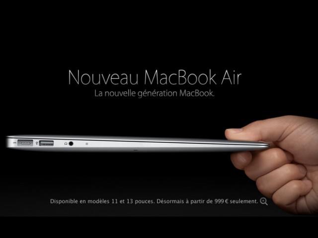 Nouveaux MacBook Air : les spécifications révélées ?