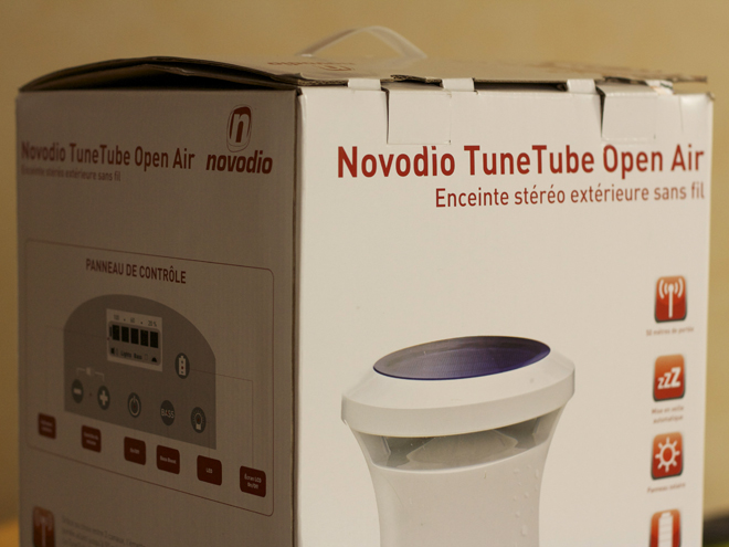 Gagne un Novodio TuneTube Open Air !