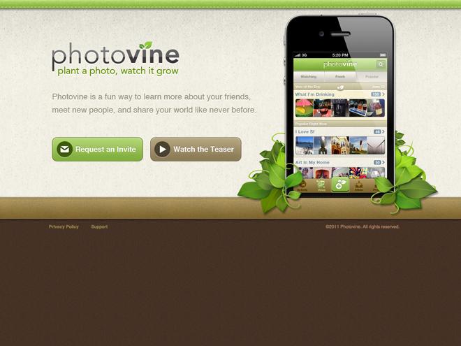 Photovine, Instagram par Google !